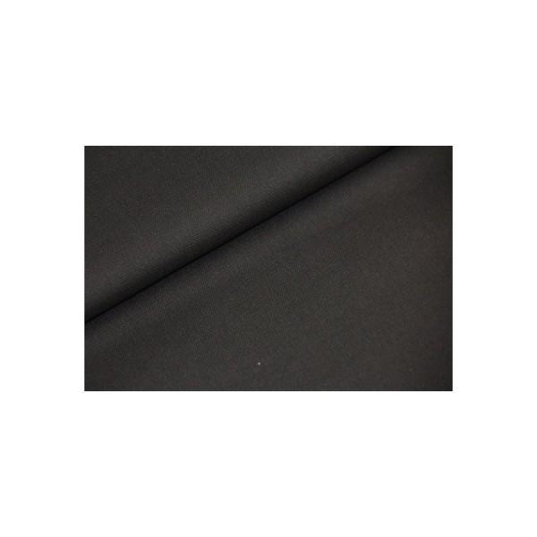 Baumwollstoff unifarben - schwarz