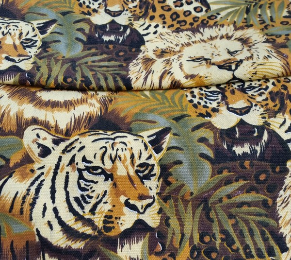 Canvas Dschungel - Reststück 0,65x1,4m (425/09)