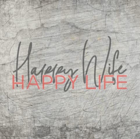 """""""Happy Wife"""" - Plotterdatei + 3D Druck Datei - B.Style"""