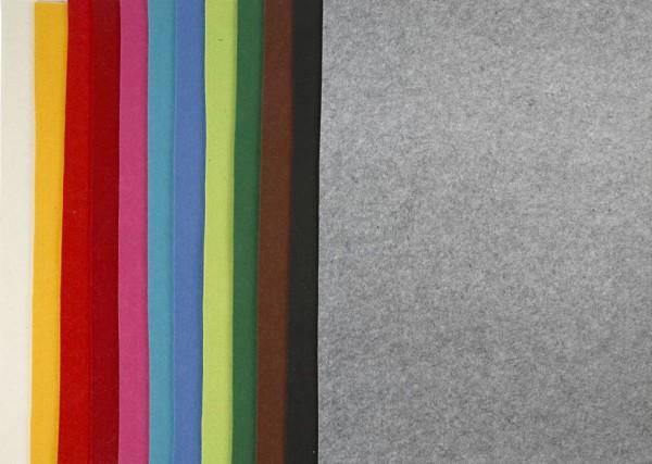 Filzplatten - 3mm - 42x60 cm - versch. Farben
