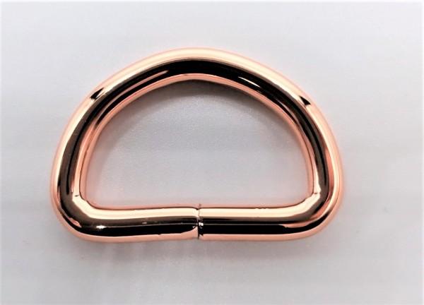 D-Ring rosé-gold - 32mm