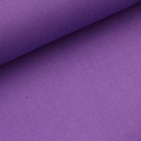 Baumwolle-Webware unifarben - lila
